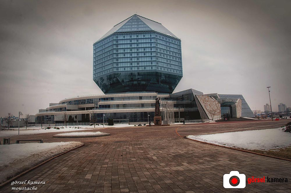 Naional library Belarus